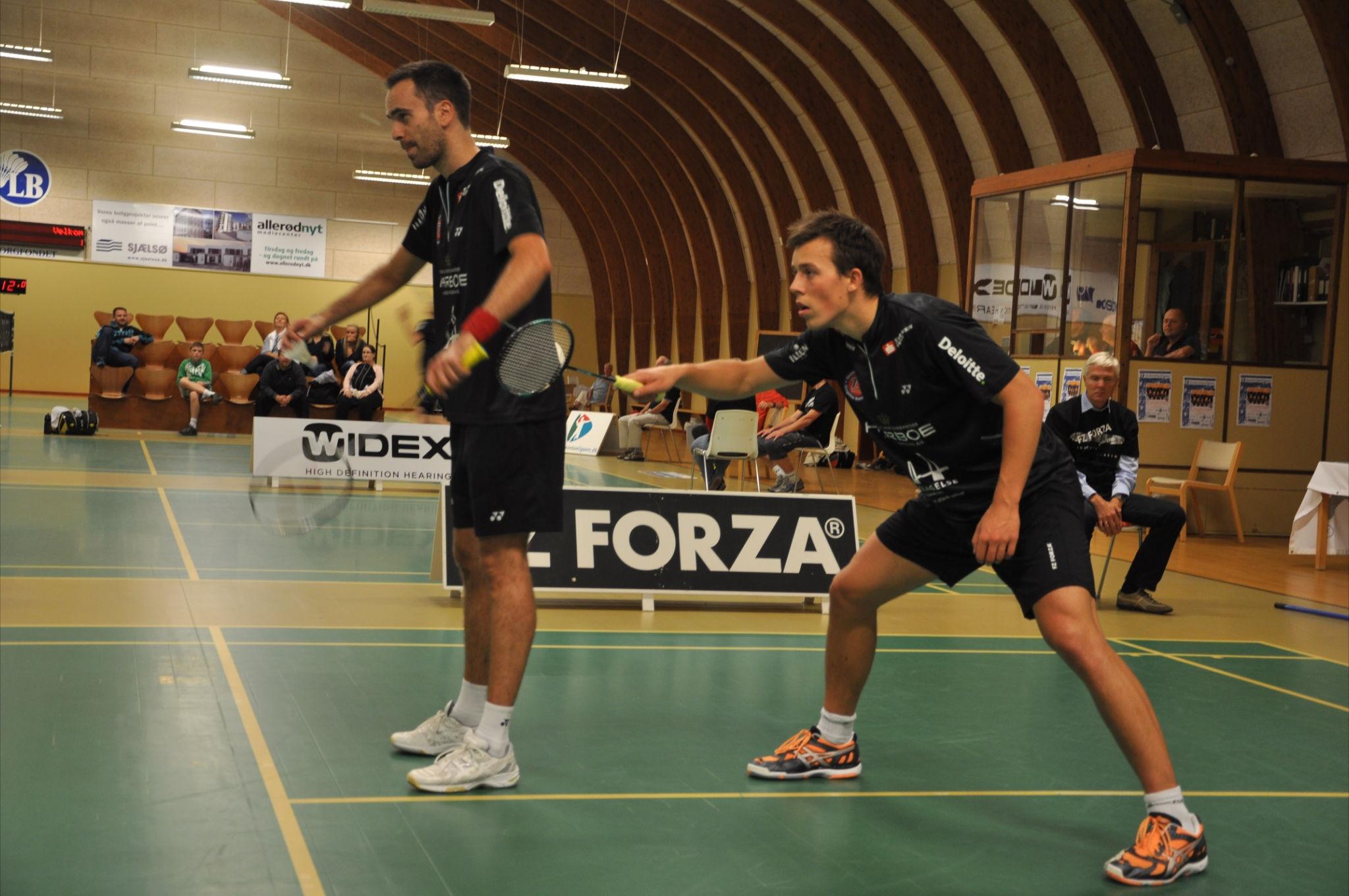 Joachim Fischer Anders S Rasmussen – BadmintonBladet