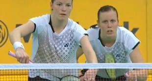 Christinna Pedersen og Kamilla Rytter Juhl skal i dag afgøre, hvilken farve den danske medalje skal være.
