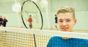 Victor Svendsen skifter fra næste sæson Ikast ud med Vendsyssel Elite Badminton.  @Privat foto.