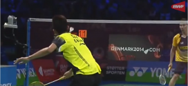 Video: Se Chen Long slå Lee Chong Wei i finalen ved Denmark Open 2013
