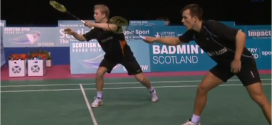 Video: Se Kim Astrup/Anders Skaarups semifinalesejr ved Scottish Open 2013