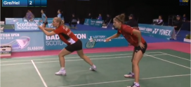Video: Se Lena Grebak/Maria Helsbøls 1/8-finale ved Scottish Open 2013