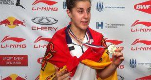 Carolina Marín. Foto @ Badmintonbladet