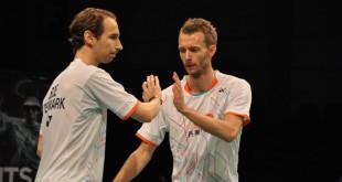 Mathias Boe og Carsten Mogensen. Foto @ Annette Vollertzen