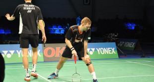 Conrad og Kolding nåede kun til anden runde i dette års Japan Open. Foto: Annette Vollertzen