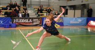 Julie Dawall. Foto @ Badmintonsamband Island