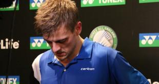 Hans-Kristian Vittinghus tabte i første runde til en ny, ung Kineser.