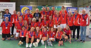 Glade danske medaljevindere. Foto @ Annette Vollertzen