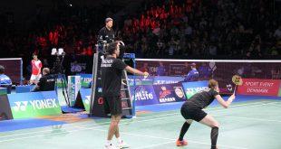 Joachim Fischer og Christinna Pedersen skal finde deres topniveau frem i dag. Foto: Badmintonbladet.