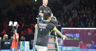Tanongsak Saensomboonsuk spillede sig i finalen ved Danmark Open. Foto: Badmintonbladet